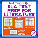ELA Test Prep for Literature - Find Someone Who