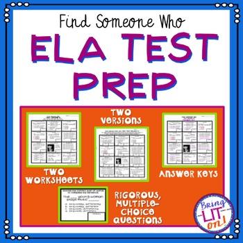 ELA Test Prep - Find Someone Who