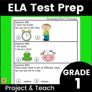 Grade 1 - Lang. Arts/ELA Test Prep - Get ready for SAT10 a