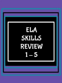 ELA Test Prep for Grades 3, 4,& 5/Oklahoma Academic Standards & CCS