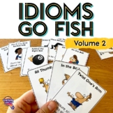 ELA Test Prep IDIOMS Go Fish Card Game 3rd 4th Grade FSA AIR