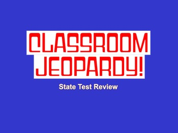 ELA Test Prep Jeopardy