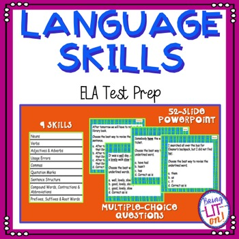 ELA Test Prep - Language Skills Practice