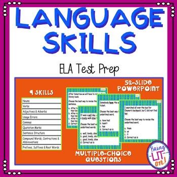 ELA Test Prep - Language Skills Practice