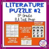 ELA Test Prep - Literature Puzzle #2