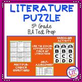 ELA Test Prep - Literature Puzzle