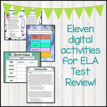 ELA Test Prep - Middle School Edition