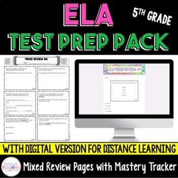 ELA Test Prep Pack - 5th Grade