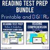 ELA Test Prep Reading Standards Printable AND Digital Bundle