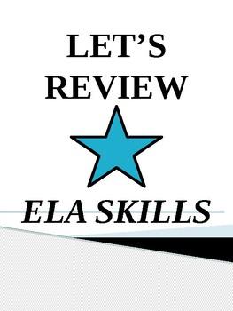 ELA TEST PREP REVIEW FOR GRADES 3, 4, & 5/Oklahoma Academic Standards & CCS