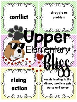ELA Test Prep Vocabulary Cards