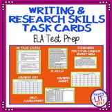 ELA Test Prep - Writing & Research Task Cards