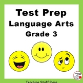 REVIEW Language | Grammar Grade 3 CORE LISTS | Practice Worksheets TEST PREP