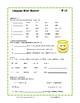 TEST PREP Language ... Grade 3 CORE ... Practice Worksheets