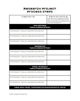 ELA Time Management Organizers for Writing & Speaking Assessments