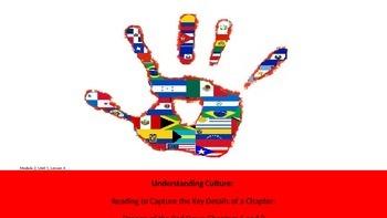 ELA Unit #1 Lesson #4 Understanding Culture