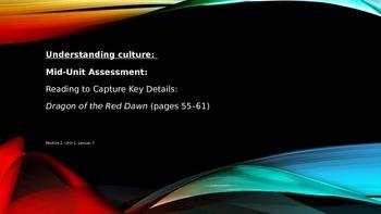 ELA Unit #1 Lesson #7 Understanding Culture