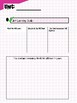 ELA Unit Planning Template