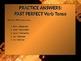 ELA VERBS Perfect Verb Tenses Present, Past, Future Perfec