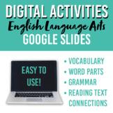 ELA Virtual Learning Bundle: Vocabulary, Grammar, Text Con