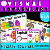 FSA/PARCC ELA Visual Vocabulary Cards with Definitions