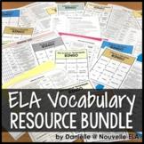 ELA Vocabulary Bundle