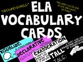 ELA Vocabulary Cards **GROWING BUNDLE**