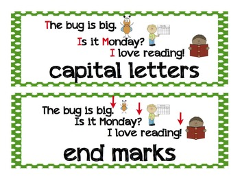 ELA Vocabulary Cards (Kindergarten, Common Core)