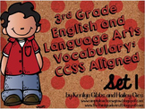 ELA Vocabulary Grades 2-4 CCSS Aligned: Set 1