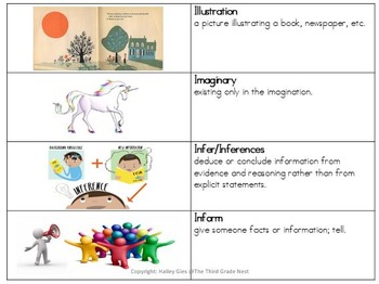ELA Vocabulary Grades 2-4 CCSS Aligned: Set 2