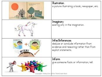 ELA Vocabulary Grades 2-4 CCSS Aligned: Set 2