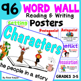 Reading Posters and Writing Posters Bundle