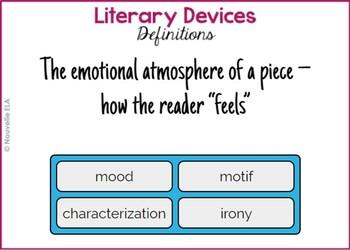 ELA Vocabulary Quiz Bundle - Digital Version