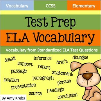 ELA Test Prep - Vocabulary (CCSS Aligned)