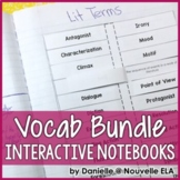 ELA Vocabulary for Interactive Notebooks