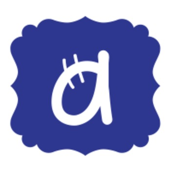 ELA WORD WALL LETTERS - BLUE
