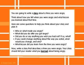 ELA WRITING: Grade 3 ACT Aspire REFLECTIVE NARRATIVE: 15 Prompts