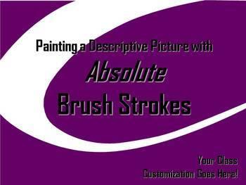 ELA WRITING: Absolute BRUSH STROKE #3 Advanced & Varied Sentence Structure
