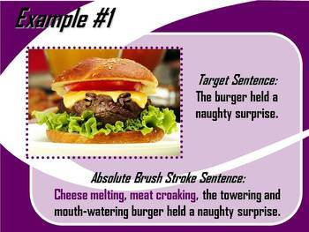 ELA WRITING: Absolute BRUSH STROKE #3 Advanced & Varied Sentence Structure