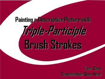 ELA WRITING: Triple Participle BRUSH STROKE #2 Advanced & Varied Sent. Structure