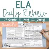 ELA Daily Review 7th Grade