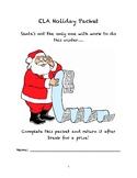 ELA Winter Holiday Packet