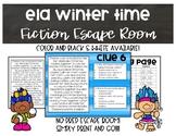 ELA Winter Time Fiction Escape Room