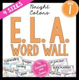 ELA Word Wall (1st Grade)