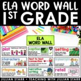 ELA Word Wall 1st Grade (Common Core Aligned)