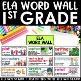 ELA Word Wall 1st Grade (Common Core Aligned)