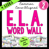 ELA Word Wall (2nd Grade)