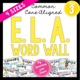ELA Word Wall (3rd Grade)