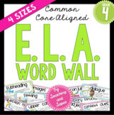 ELA Word Wall (4th Grade)
