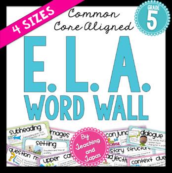 ELA Word Wall (5th Grade)